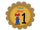 Bilingual MarioBro Theme Classroom Helpers And Tables Signs