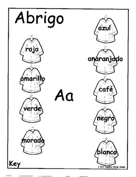 Bilingual Matching Game - Learn colors