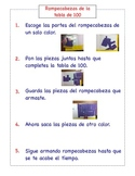 Bilingual Math Station Instructions