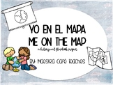 Bilingual Me on the Map Flap Book (Spanish/English)