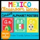 Bilingual Mexico Alphabet Posters