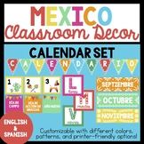 Bilingual Mexico Calendar Set