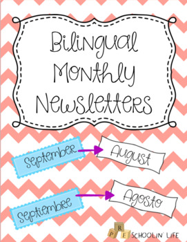 Bilingual Monthly Parent Newsletters