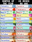 Bilingual Months of the Year/Os Meses Do Ano – Portuguese