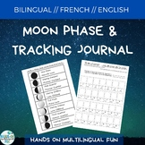 Bilingual Moon Phases Cards and Tracking Journal