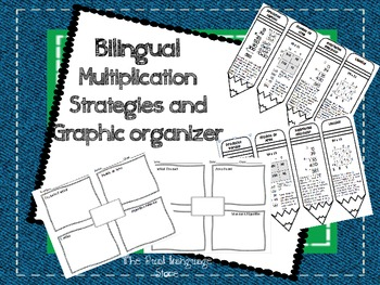 Bilingual Multiplication Strategies and Graphic Organizer