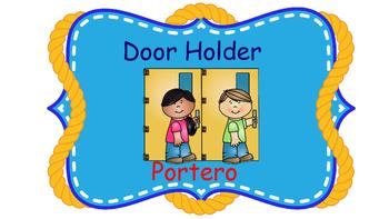 Bilingual Nautical Theme Classroom Helpers2
