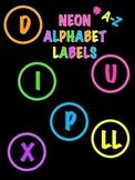 Bilingual Neon Letters