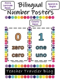 Bilingual Number/Numero Class Posters