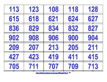 Bilingual Number Patterns (English & Spanish)