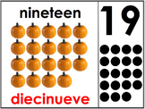 Bilingual Number Posters 11-20
