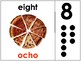 Bilingual Number Posters - Preschool & Kindergarten Classroom