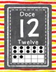 Bilingual Number Signs 0-20 (Watercolor Theme)