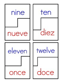 Bilingual Number Word Puzzles