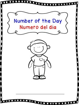 Bilingual Number of the day 1-120