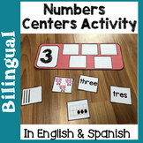 Bilingual Numbers Centers Activity in English & Spanish