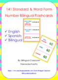 Bilingual Numbers Flashcards
