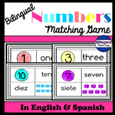 Bilingual Numbers Matching Game