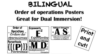 Bilingual Order of Operations