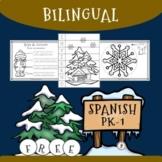 Bilingual PK-1st Grade Winter Sampler Pack (Spanish-English)