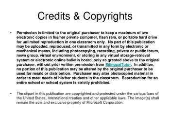 Bilingual PK-4 Classroom Organization Labels/Carteles para organizar