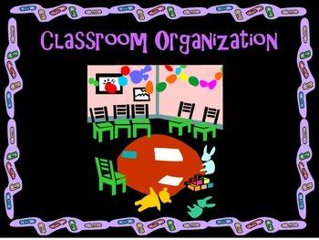 Bilingual PK-4 Classroom Organization Labels/Carteles para