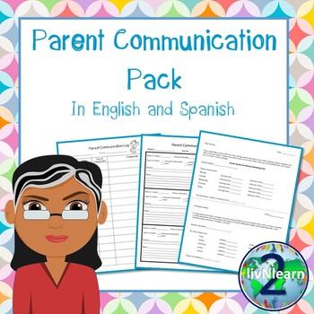 Bilingual Parent Communication Pack (Spanish & English)