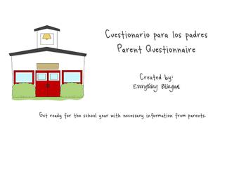 Bilingual Parent Questionnaire