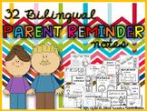 Bilingual Parent Reminders