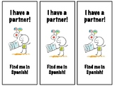 Bilingual Partner Bookmarks