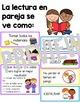 Bilingual Partner Reading Anchor Charts Bundle-English and Spanish Charts