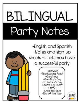 Bilingual Party Notes