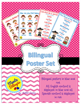 Bilingual Poster Set