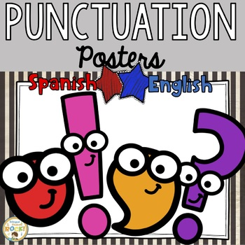 Bilingual Punctuation Posters