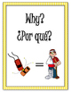 Bilingual Question Word Posters (Spanish and English)