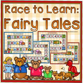 Numbers and shapes: Bilingual Race to Learn-Fairy Tales
