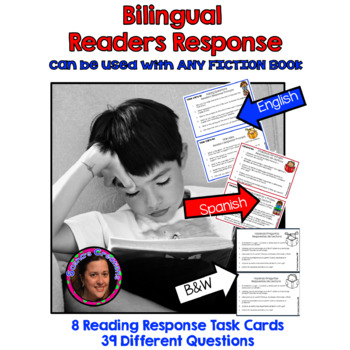 Bilingual Readers Response for Fiction Books