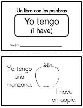 "Bilingual Readers with ""Tener"""
