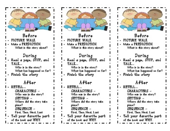 Bilingual Reading Comprehension Bookmarks