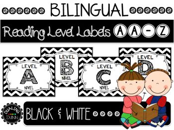 Bilingual Reading Level Cards AA-Z