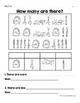 Bilingual School Counting Activity -Actividades de contar