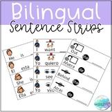 Bilingual Sentence Strips English/Spanish