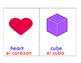 Bilingual Shape Cards