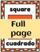 Bilingual Shape Posters - 2D