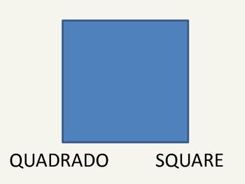Bilingual Shapes   (English Portugues)
