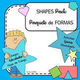 Shapes - Formas PACK (Bilingual English & Spanish)