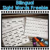 Bilingual Sight Words