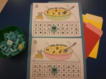 Bilingual Sopa de Letras