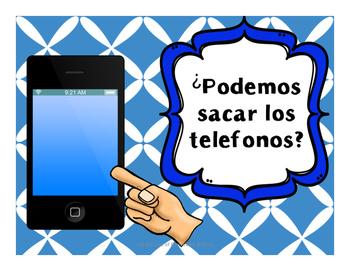 Bilingual Spanish Classroom Questions