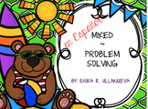 Bilingual (Spanish & English) Aug. Math Problem Solving TEKS based